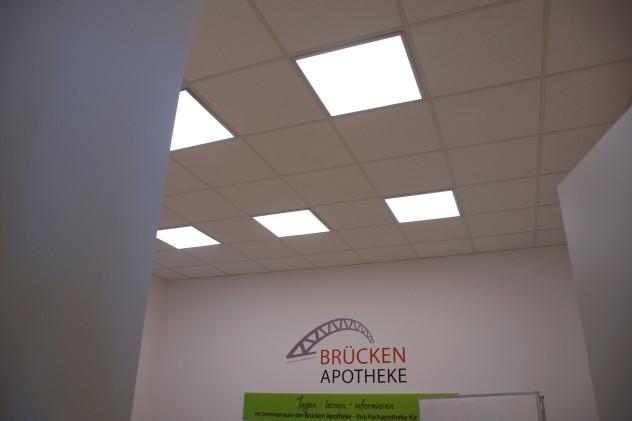 LED Panele im Konferenzraum
