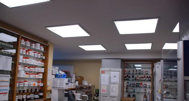 LED Panels im Labor