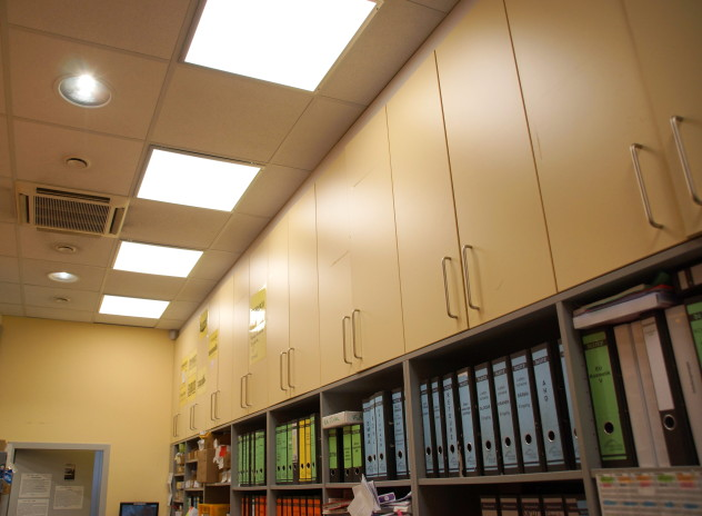 LED Panels und LED Deckeneinbaustrahler