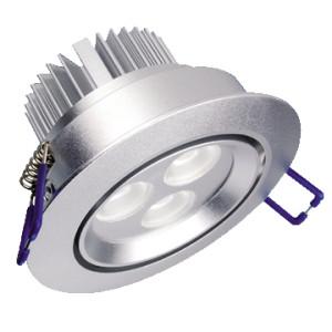 3x1-Watt-Strahler-LED