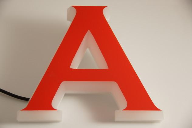 LED Vollacrylbuchstaben