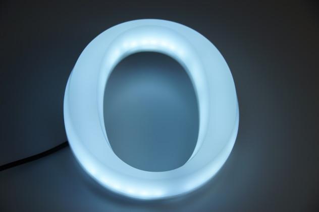 Vollacrylbuchstabe leuchtend LED